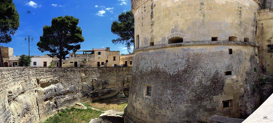 Torre della sala ennagonale,la più antica del castello (Foto Lafratta)