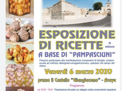 """Ritorna la """"Gara di ricette a base di Pampasciuni"""""""