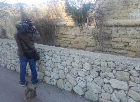 Servizio di TeleRama per filmare il degrado di Acaya
