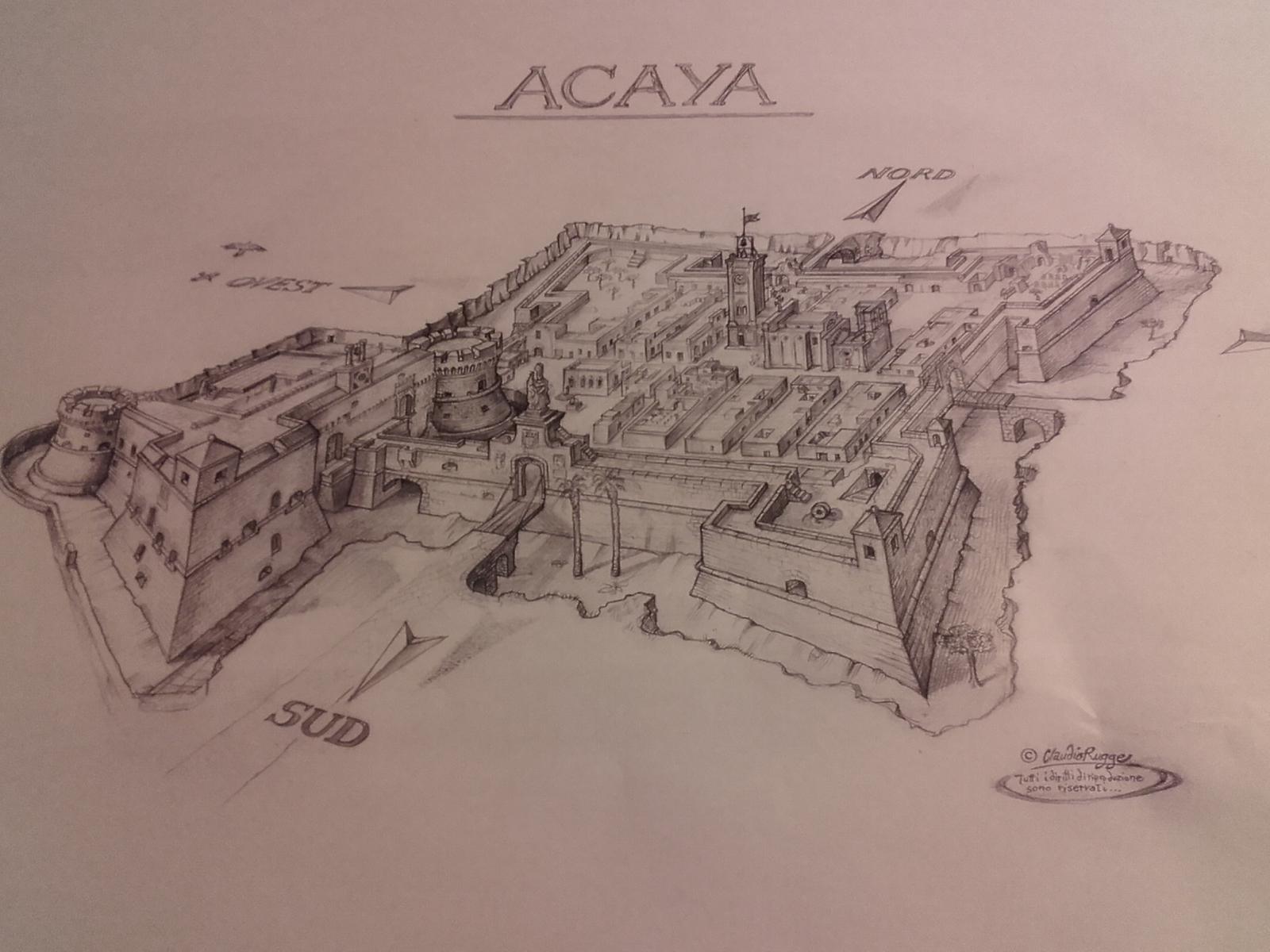 La cittadella fortificata sec. XVI
