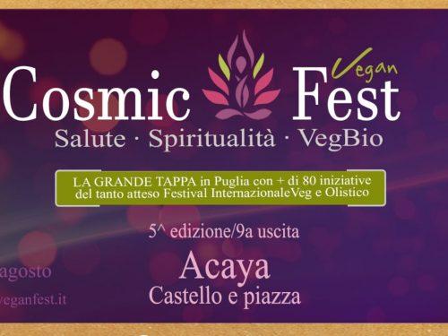 Tappa del festival veg e olistico ad Acaya
