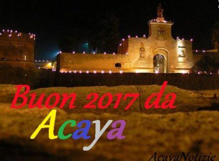 Auguri di buon anno da AcayaNotizie