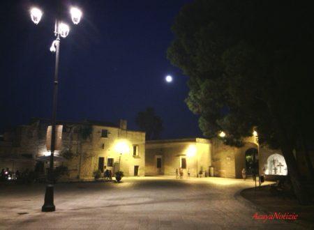 """Il fenomeno della """"Super luna"""" visto dalla cittadella"""